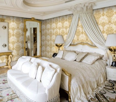 Tapety marki Obsession w sypialni