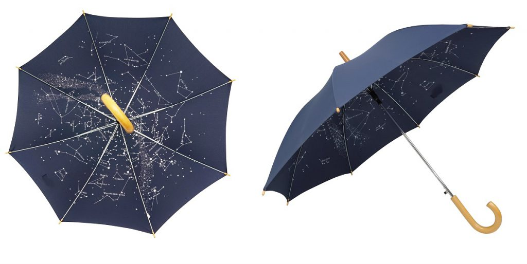 nadruk wewnątrz parasola